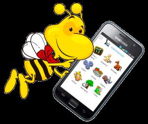 La avispa encargada de nuestros correos con la app de adivinanzas